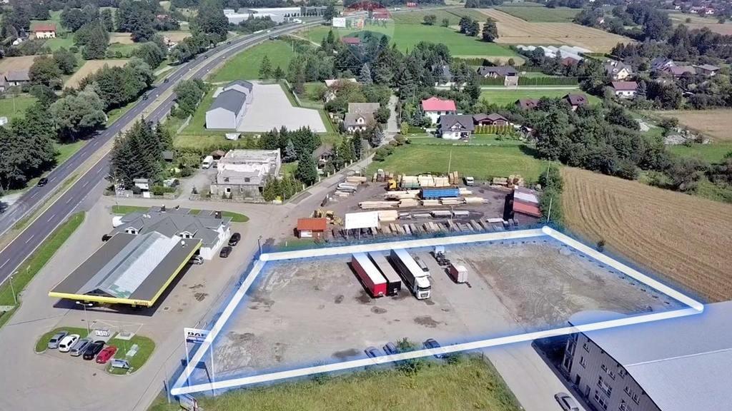Działka przemysłowo-handlowa pod dzierżawę Ustroń  1800m2 Foto 3