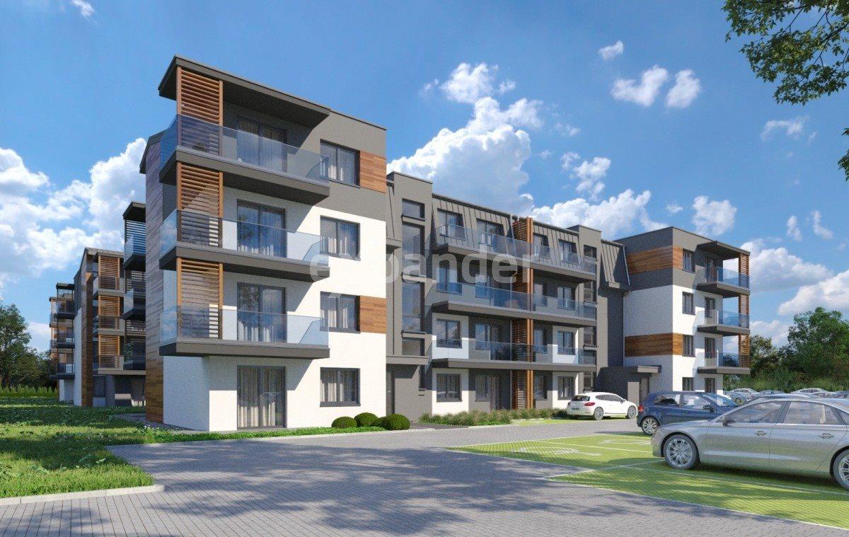Mieszkanie trzypokojowe na sprzedaż Toruń, Kręta  55m2 Foto 1