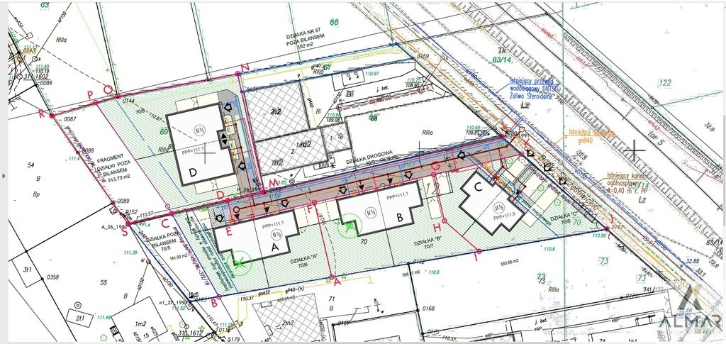 Działka budowlana na sprzedaż Warszawa, Włochy, Stare Włochy  3307m2 Foto 5