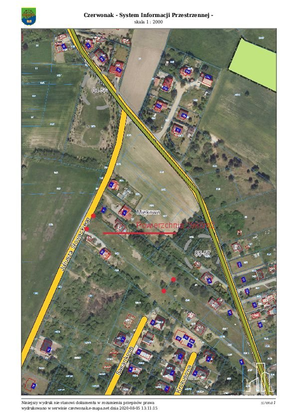 Działka budowlana na sprzedaż Miękowo, Czerwonak-Miekowo Dla Developera pod dwulokalowe  2988m2 Foto 1