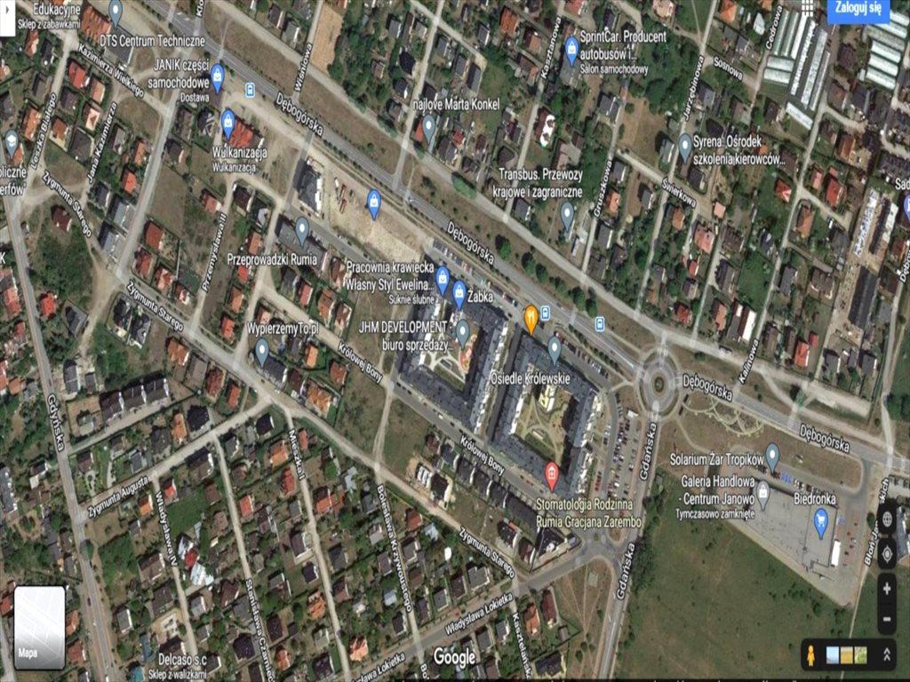 Działka budowlana na sprzedaż Rumia, Dębogórska  1124m2 Foto 9