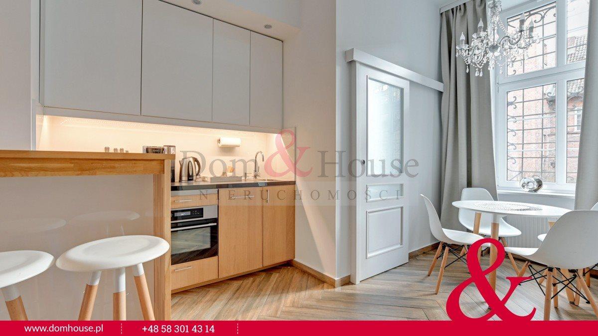Mieszkanie dwupokojowe na wynajem Gdańsk, Śródmieście, Ogarna  27m2 Foto 8