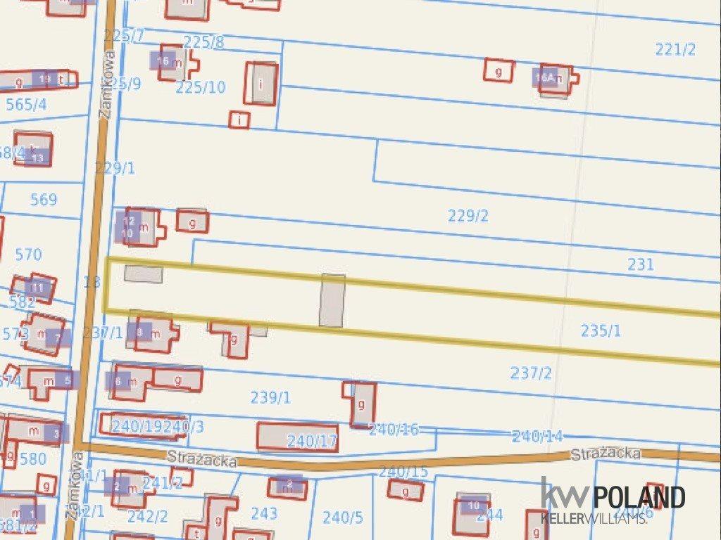 Działka budowlana na sprzedaż Kotowice, Kotowice-Mirów, Zamkowa  14250m2 Foto 3