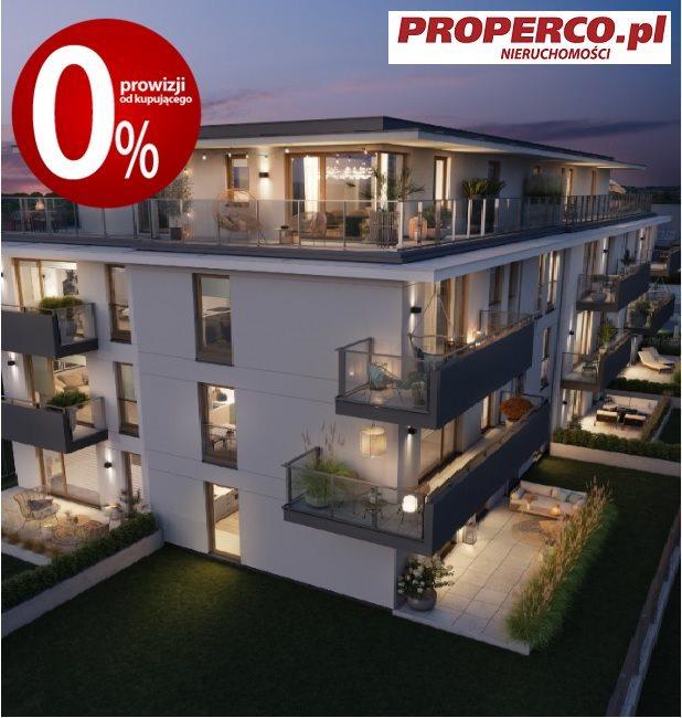 Mieszkanie trzypokojowe na sprzedaż Kielce, Baranówek  52m2 Foto 4