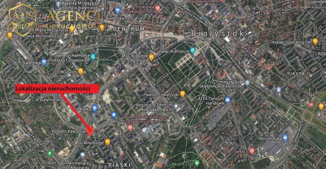 Mieszkanie dwupokojowe na wynajem Białystok, Piaski, Mazowiecka  47m2 Foto 2