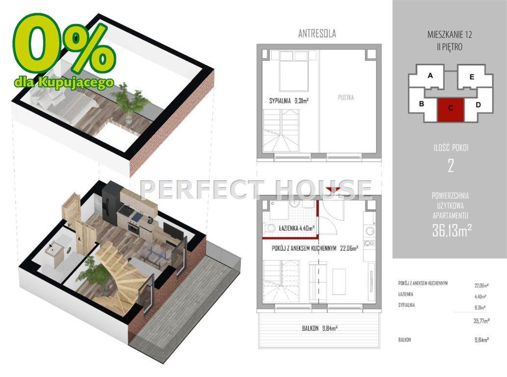 Mieszkanie dwupokojowe na sprzedaż Niechorze  36m2 Foto 2