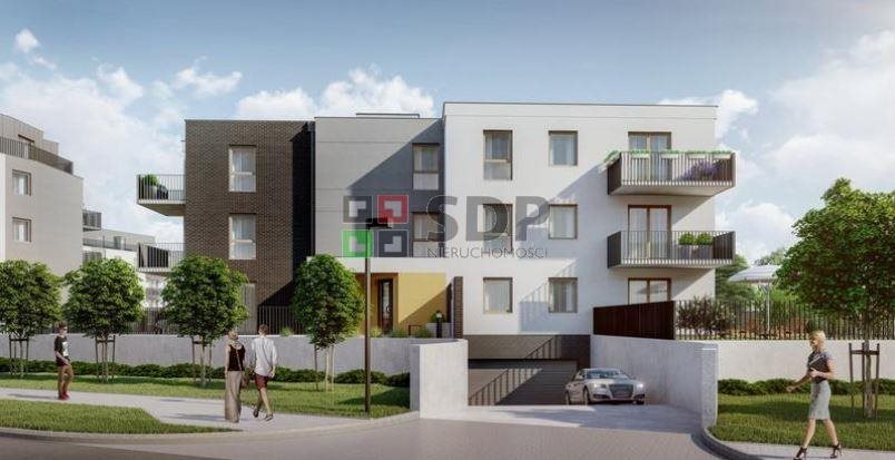 Mieszkanie dwupokojowe na sprzedaż Wrocław, Krzyki, Jagodno, Buforowa  50m2 Foto 2
