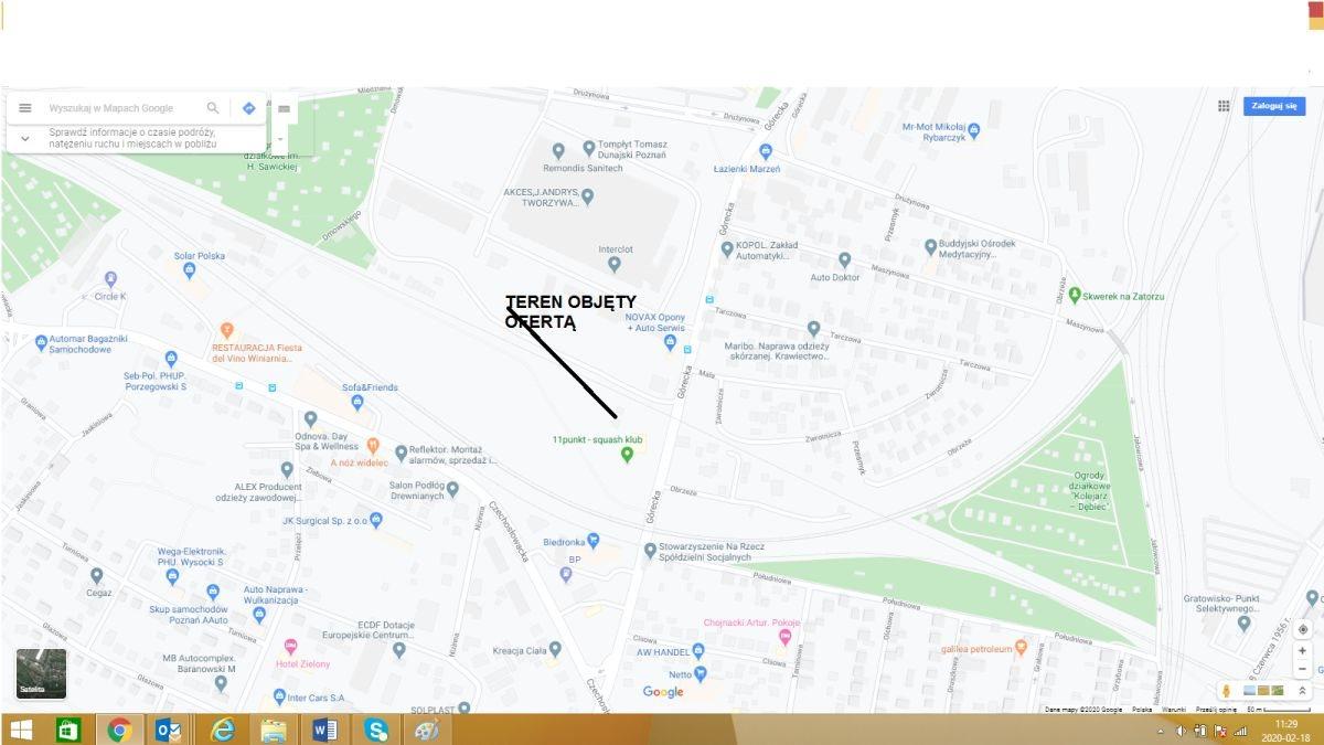 Działka przemysłowo-handlowa na sprzedaż Poznań, Grunwald, Górczyn, unikalna działka przemysłowa w Centrum Miasta, ul. Górecka  6734m2 Foto 1