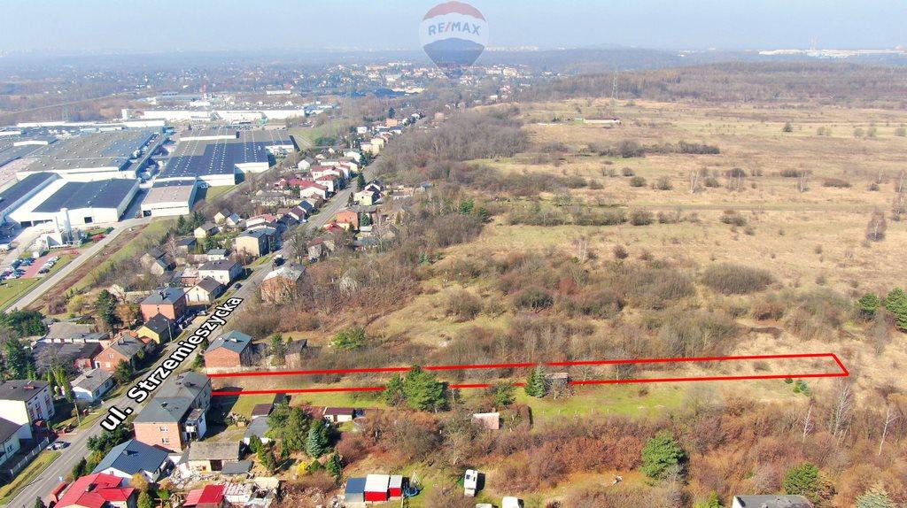 Działka budowlana na sprzedaż Dąbrowa Górnicza, Strzemieszyce Wielkie, Strzemieszycka  3092m2 Foto 13