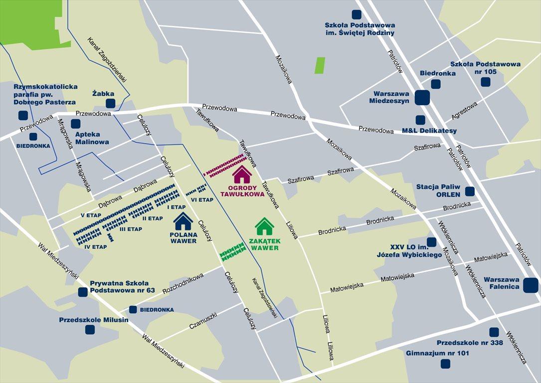 Mieszkanie czteropokojowe  na sprzedaż Warszawa, Wawer, Tawułkowa  75m2 Foto 9