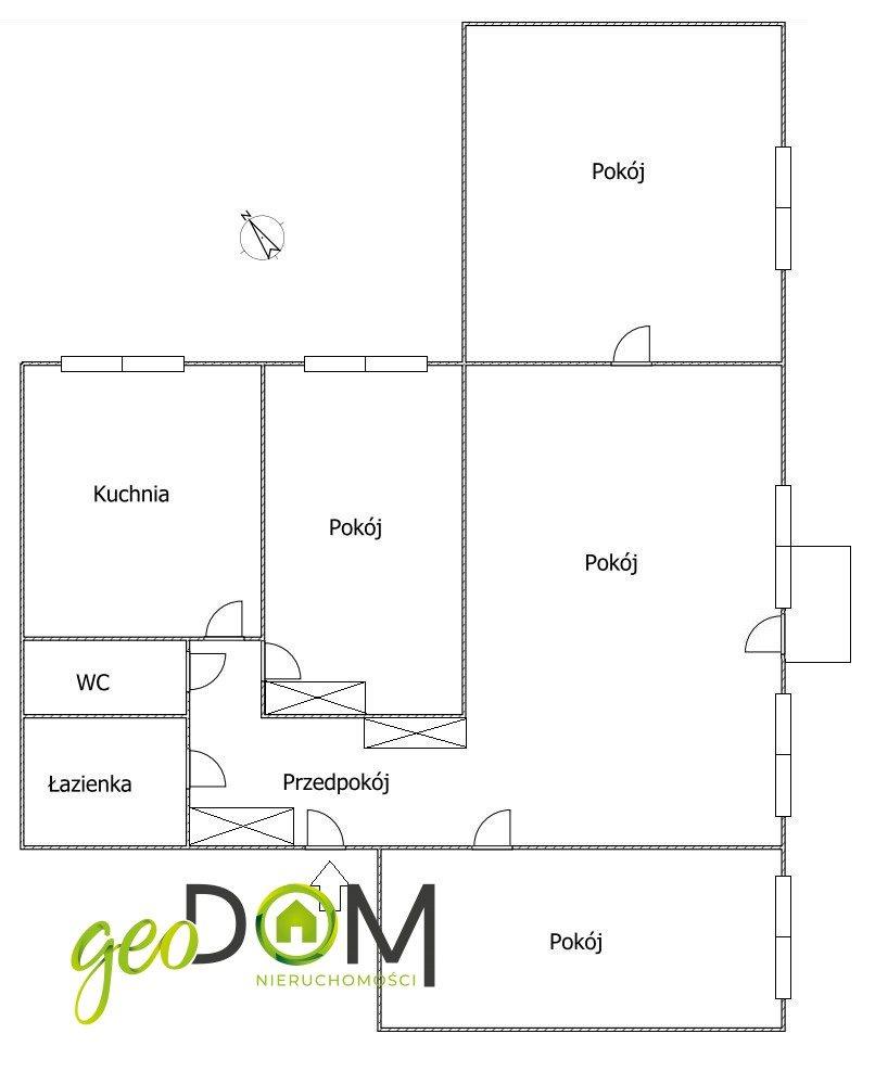 Mieszkanie czteropokojowe  na sprzedaż Lublin, Czechów, Szwajcarska  84m2 Foto 2
