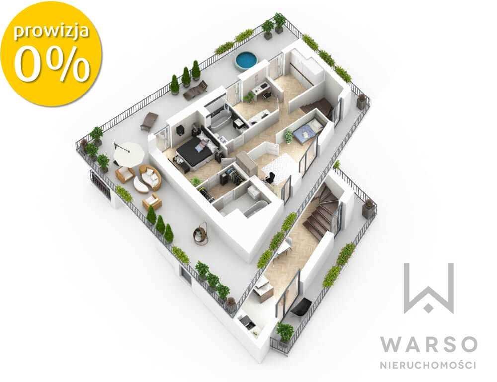 Mieszkanie czteropokojowe  na sprzedaż Warszawa, Praga-Południe, Saska Kępa, Argentyńska  137m2 Foto 3