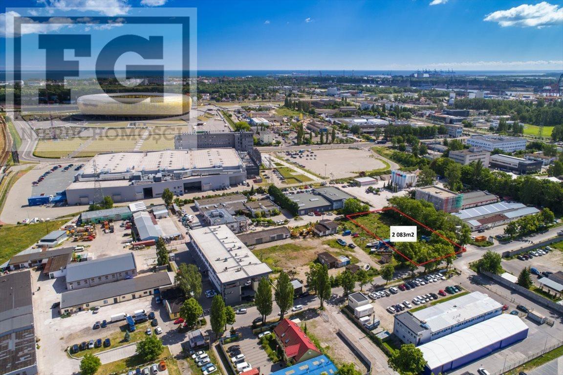 Działka przemysłowo-handlowa na sprzedaż Gdańsk, Letnica  2083m2 Foto 3