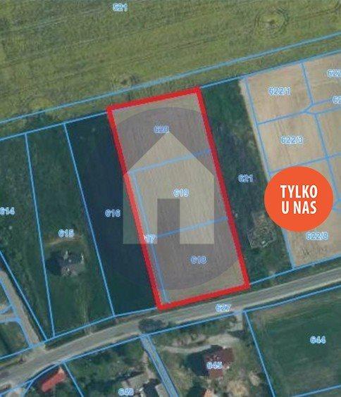 Działka budowlana na sprzedaż Dobrocin, Kościuszki  2022m2 Foto 2