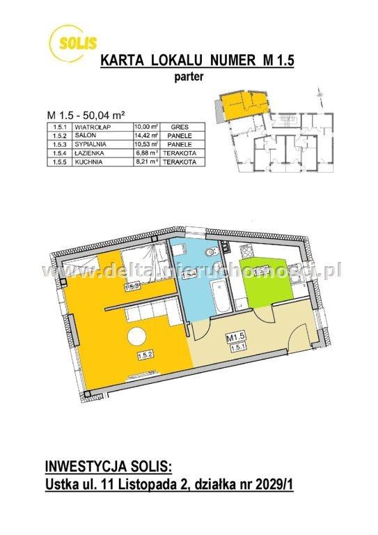 Mieszkanie dwupokojowe na sprzedaż Ustka  50m2 Foto 10