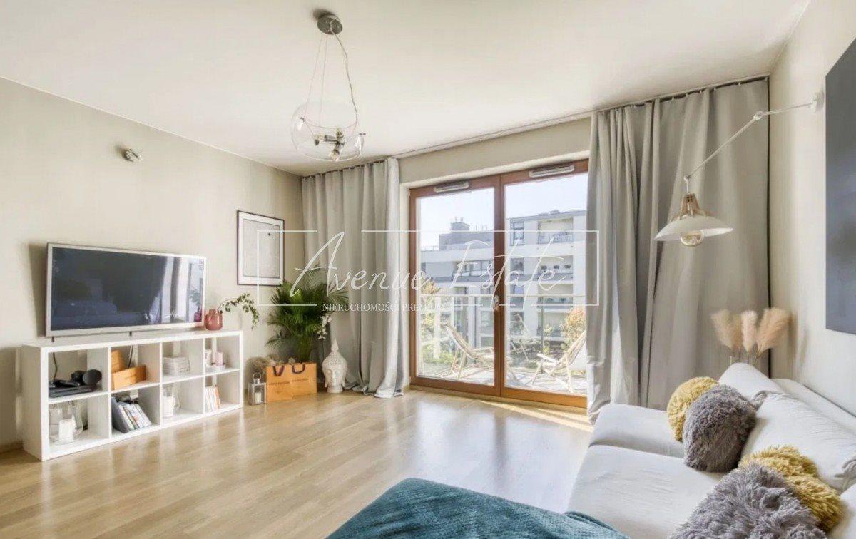 Mieszkanie trzypokojowe na sprzedaż Warszawa, Wilanów, Adama Branickiego  76m2 Foto 3