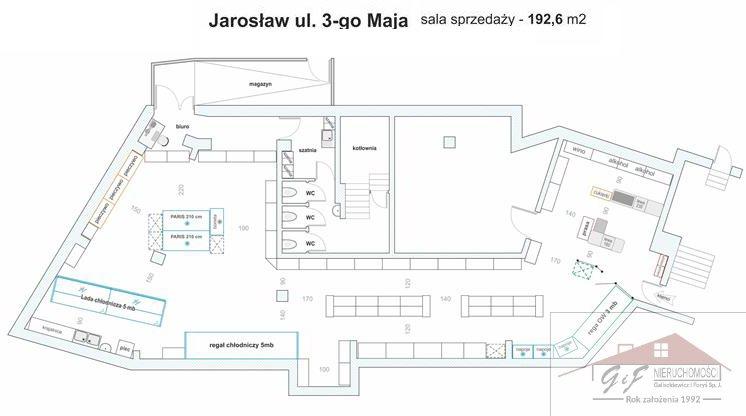 Lokal użytkowy na wynajem Jarosław, 3 Maja  200m2 Foto 13