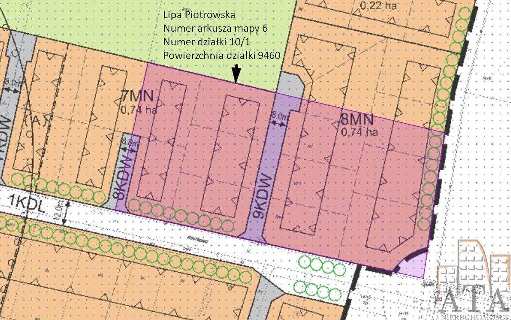 Działka budowlana na sprzedaż Wrocław, Lipa Piotrowska, Lipa Piotrowska  9461m2 Foto 2