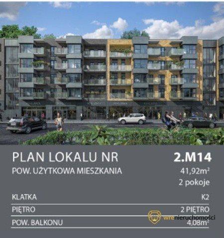 Mieszkanie dwupokojowe na sprzedaż Wrocław, Tarnogaj  42m2 Foto 4