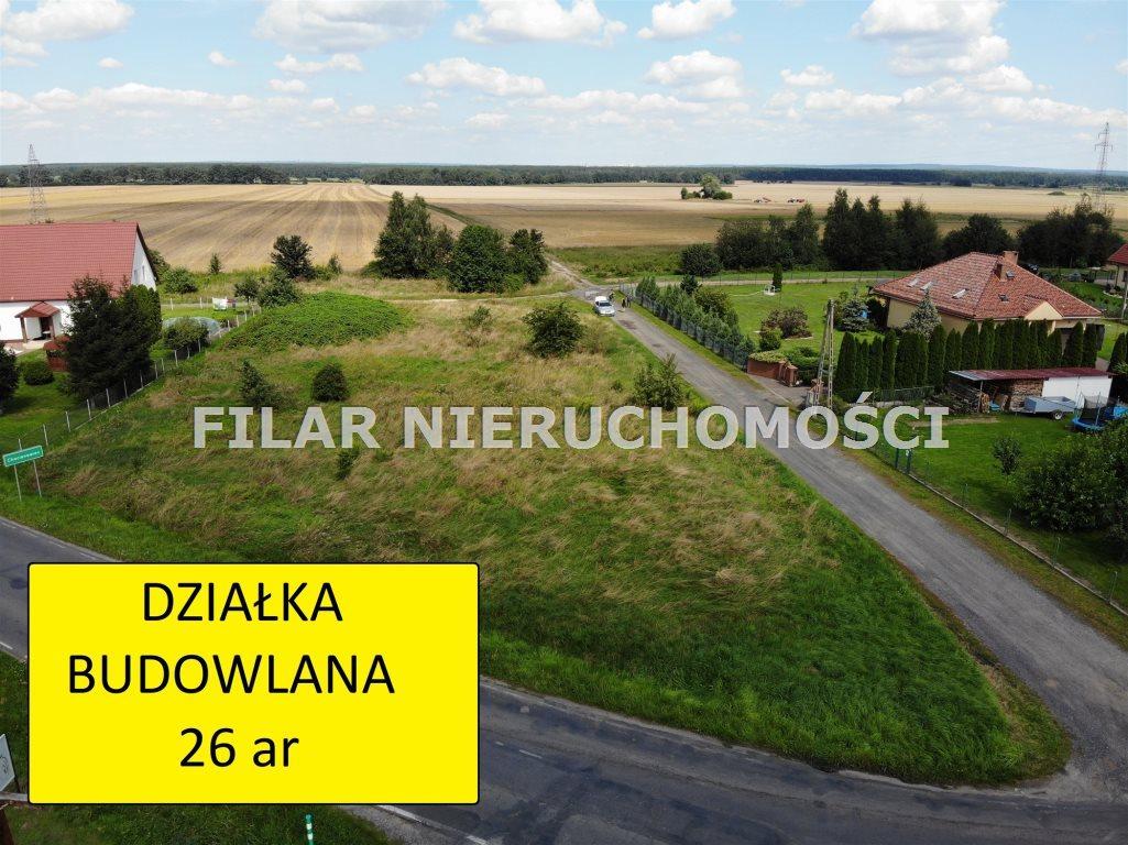 Działka budowlana na sprzedaż Chocianowiec  2600m2 Foto 1