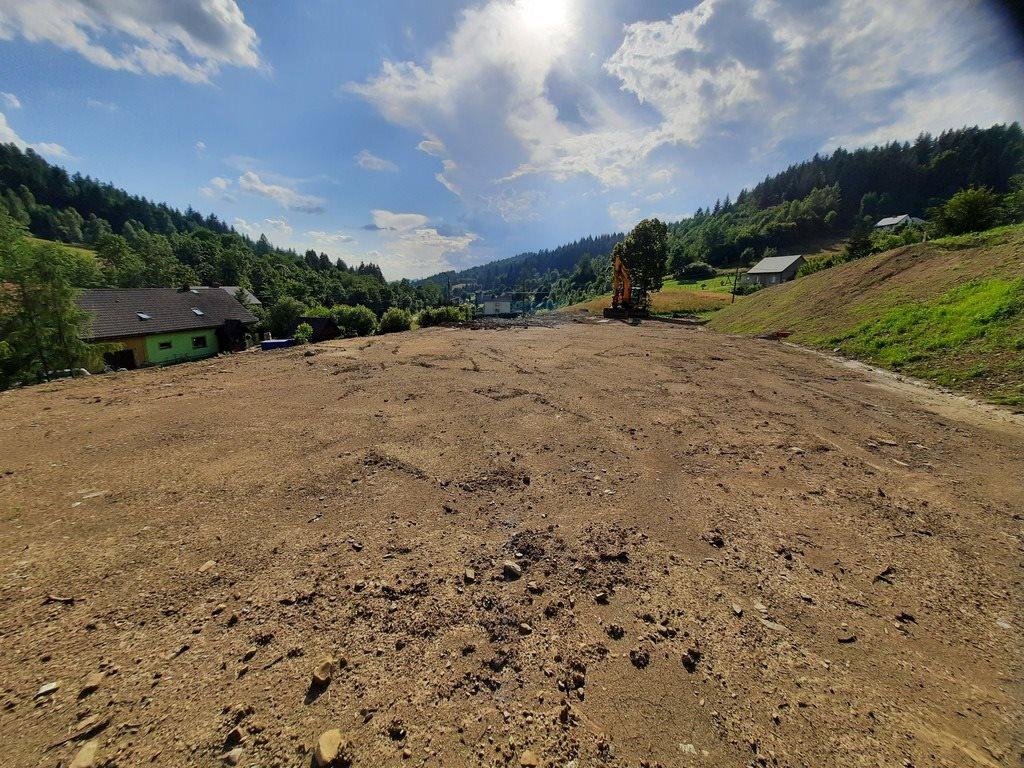 Działka budowlana na sprzedaż Pewel Ślemieńska  866m2 Foto 2