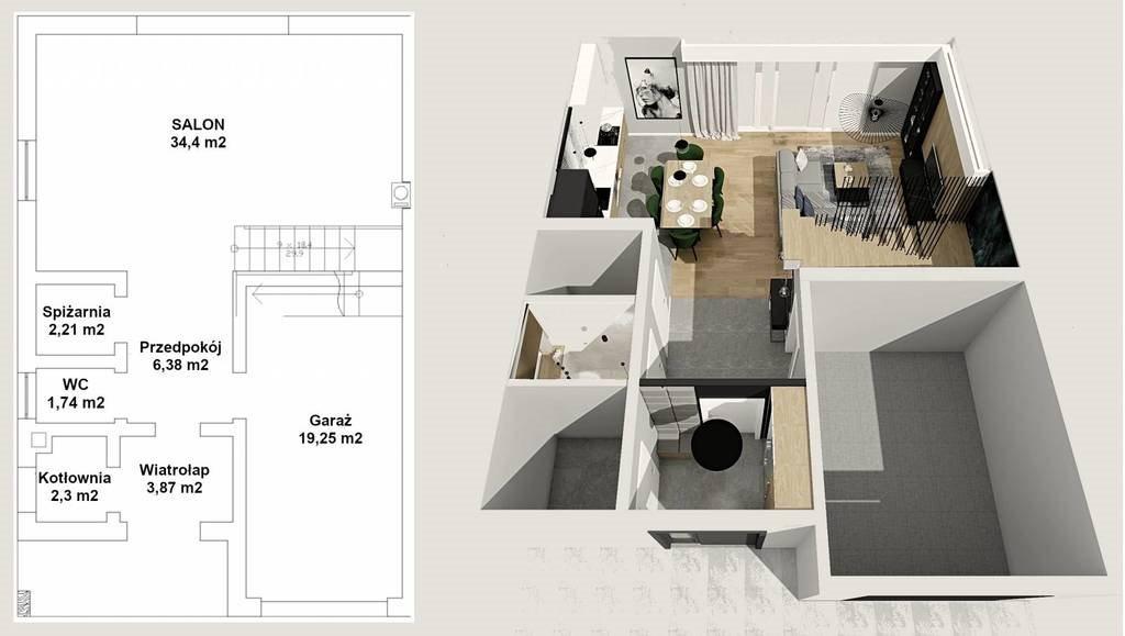 Mieszkanie na sprzedaż Czepino  139m2 Foto 3