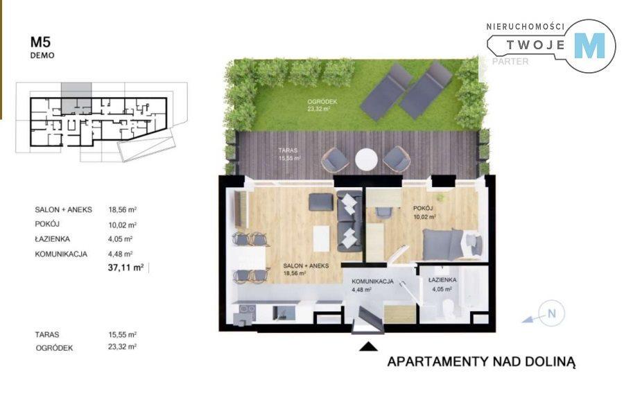 Mieszkanie dwupokojowe na sprzedaż Kielce, Sady, Sady  37m2 Foto 1