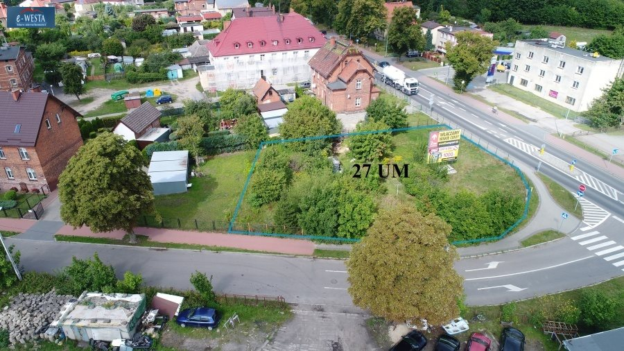 Działka inna na sprzedaż Człuchów  1138m2 Foto 2
