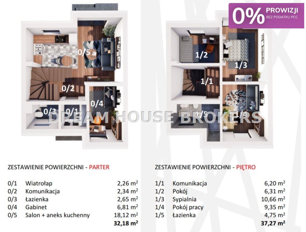 Dom na sprzedaż Rzeszów, Zalesie, Zelwerowicza  69m2 Foto 3