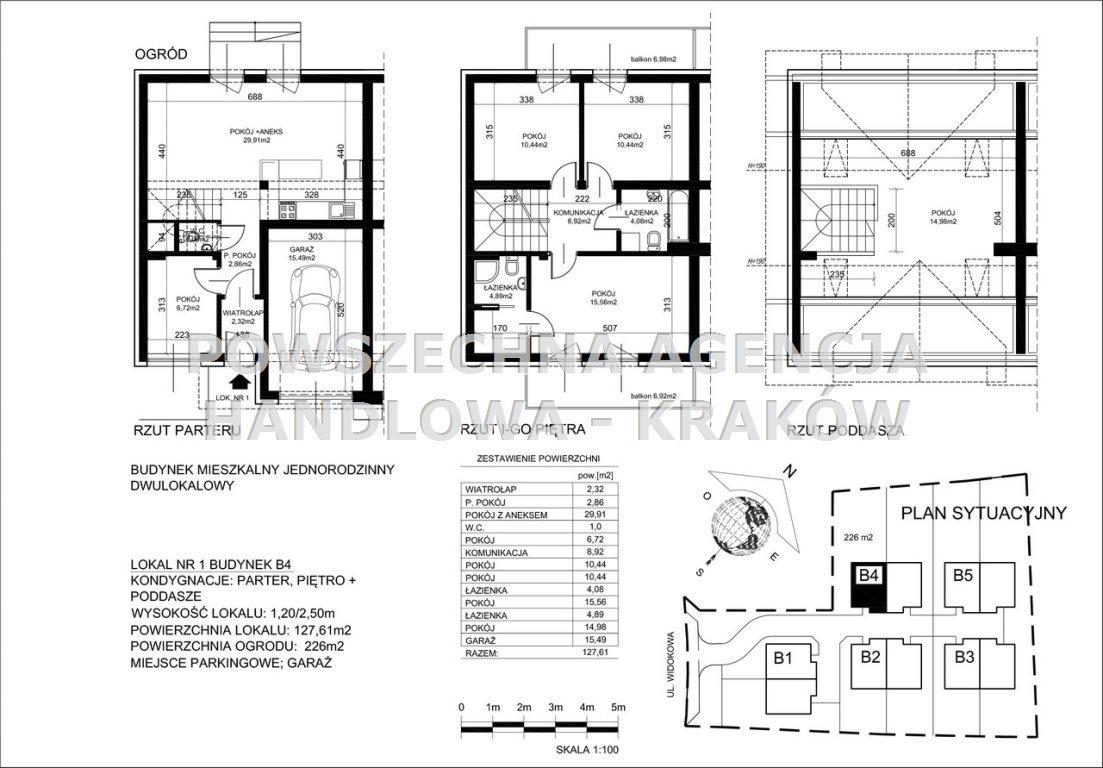 Dom na sprzedaż Trojanowice  128m2 Foto 3