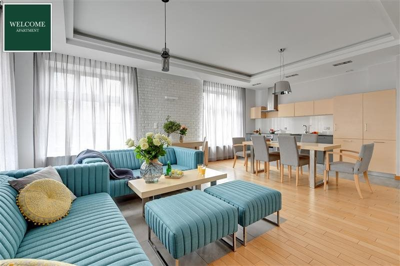 Mieszkanie trzypokojowe na wynajem Gdańsk, Stare Miasto, TOBIASZA  81m2 Foto 4