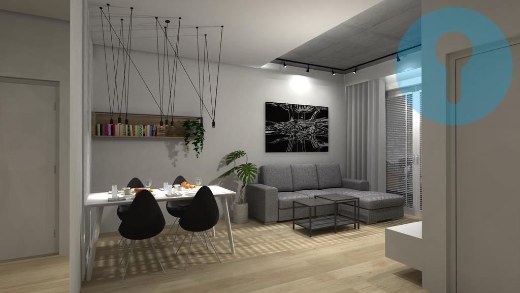Mieszkanie dwupokojowe na wynajem Kielce, Centrum  49m2 Foto 1