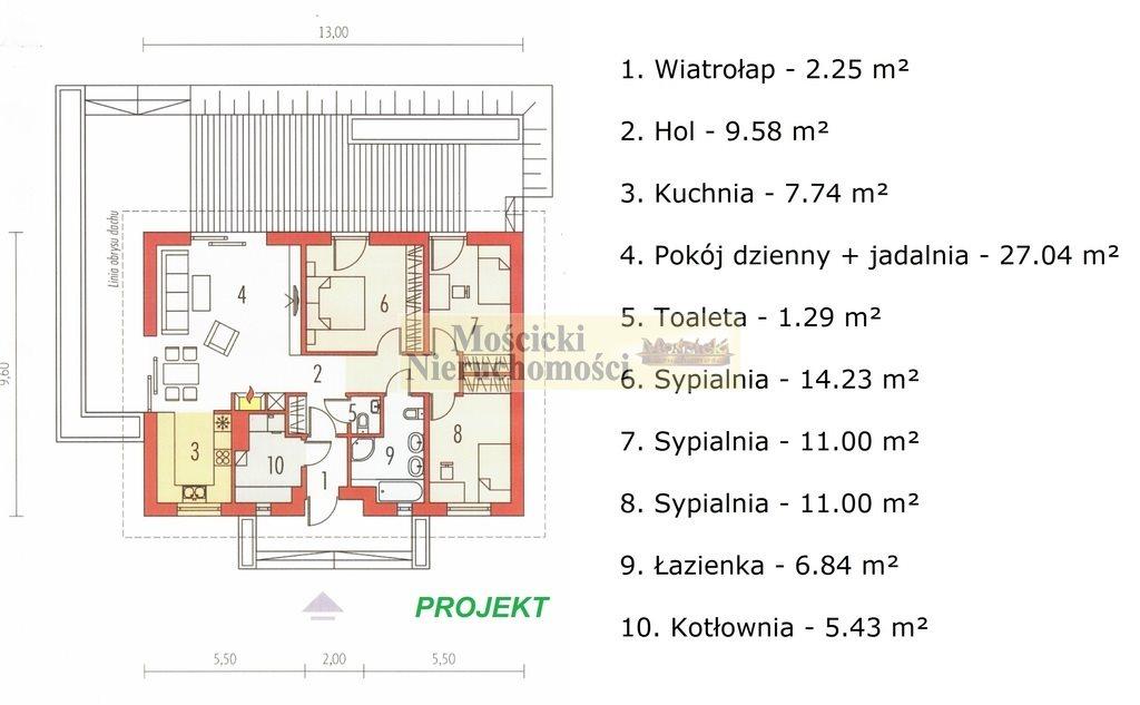 Dom na sprzedaż Kruszew  103m2 Foto 7