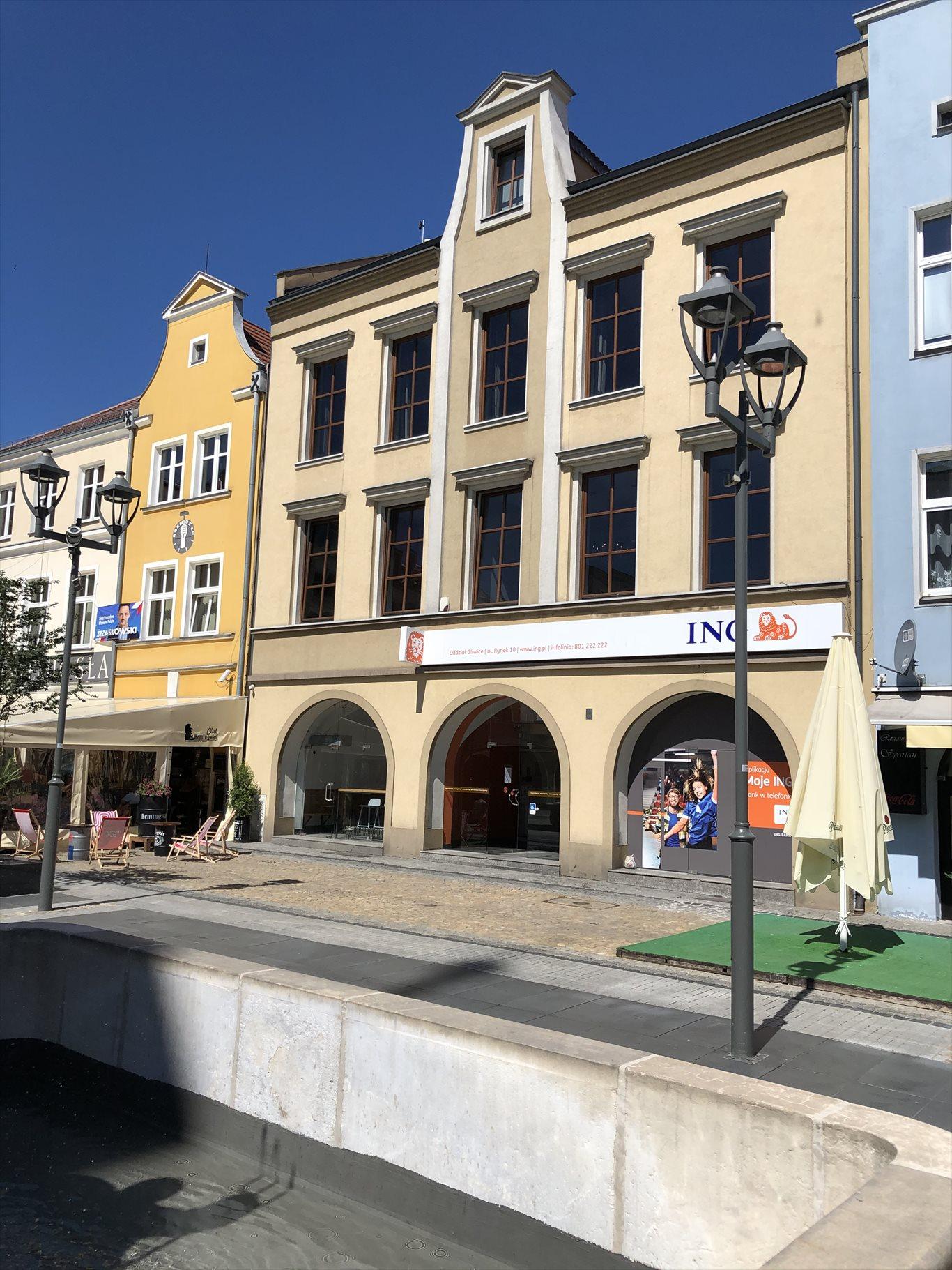 Lokal użytkowy na wynajem Gliwice, Centrum, rynek 10  380m2 Foto 1