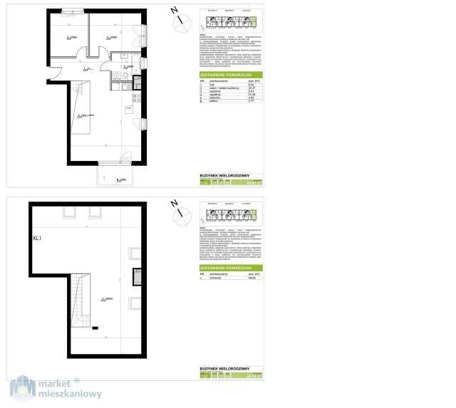 Mieszkanie czteropokojowe  na sprzedaż Konstancin-Jeziorna, Warszawska  115m2 Foto 3