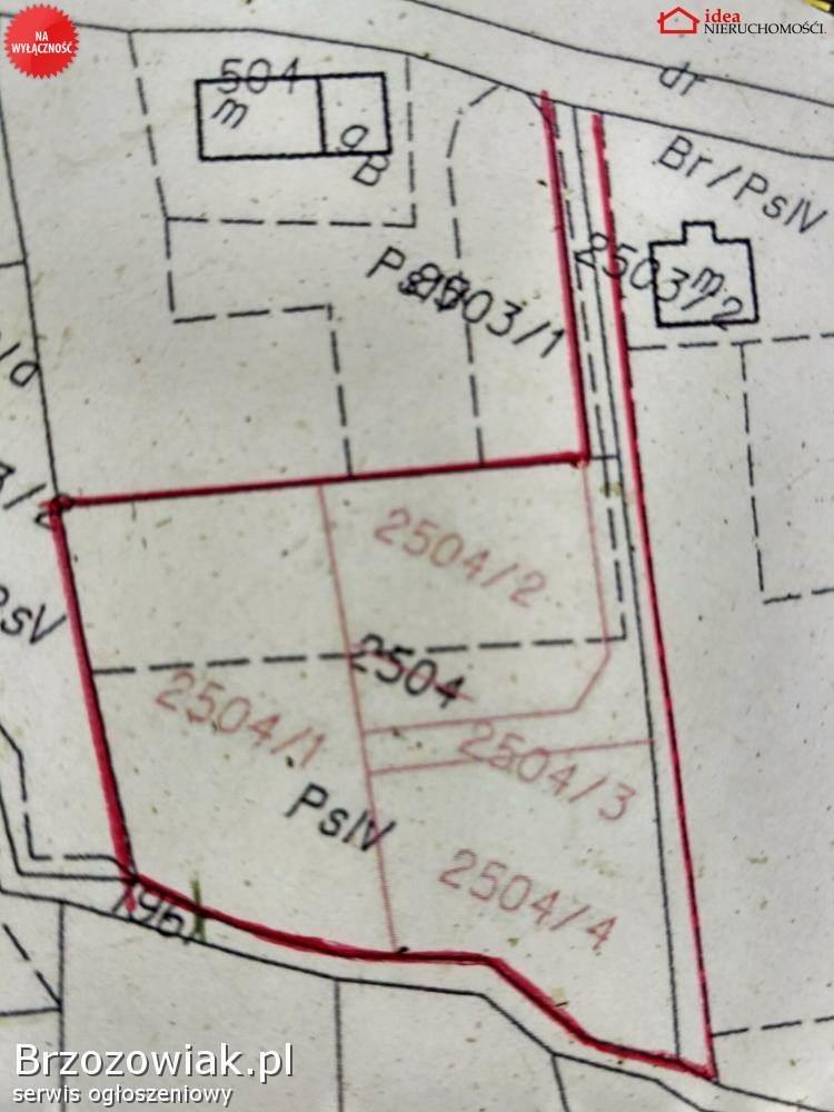 Działka budowlana na sprzedaż Jasienica Rosielna  710m2 Foto 3