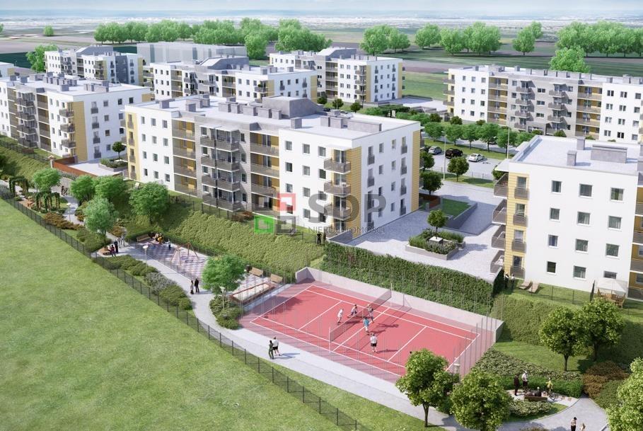 Mieszkanie dwupokojowe na sprzedaż Wrocław, Jagodno  52m2 Foto 4