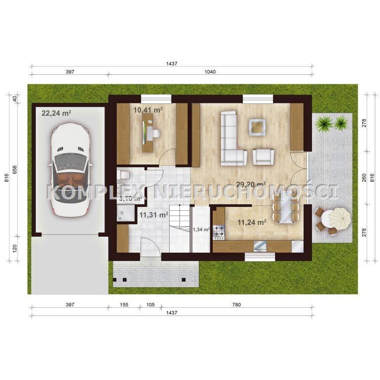 Dom na sprzedaż Żory, Rogoźna  134m2 Foto 4