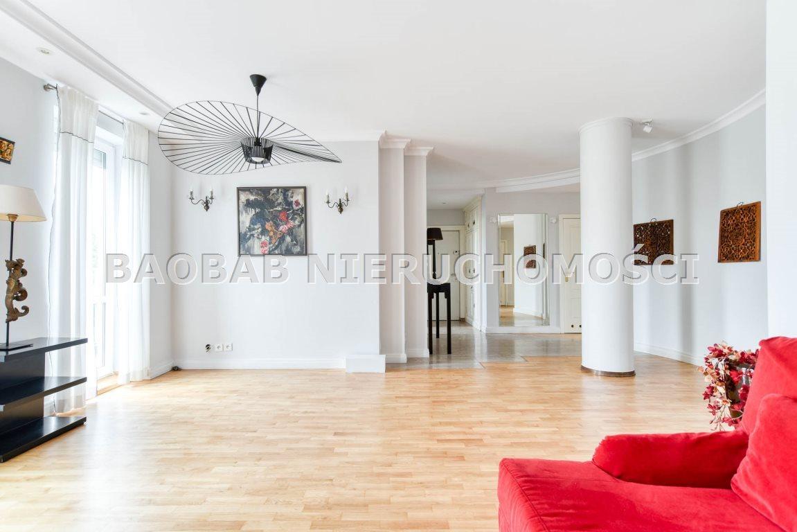 Mieszkanie czteropokojowe  na wynajem Warszawa, Praga-Południe, Saska Kępa, Saska  110m2 Foto 1