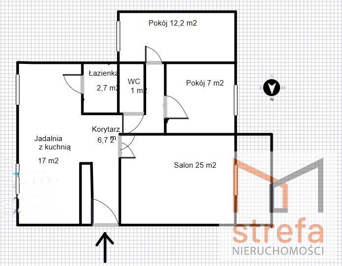 Mieszkanie czteropokojowe  na sprzedaż Lubartów  72m2 Foto 10