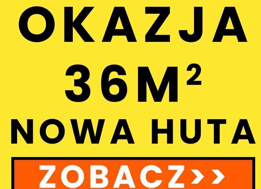 Mieszkanie dwupokojowe na sprzedaż Kraków, Nowa Huta, osiedle Hutnicze 6  36m2 Foto 1