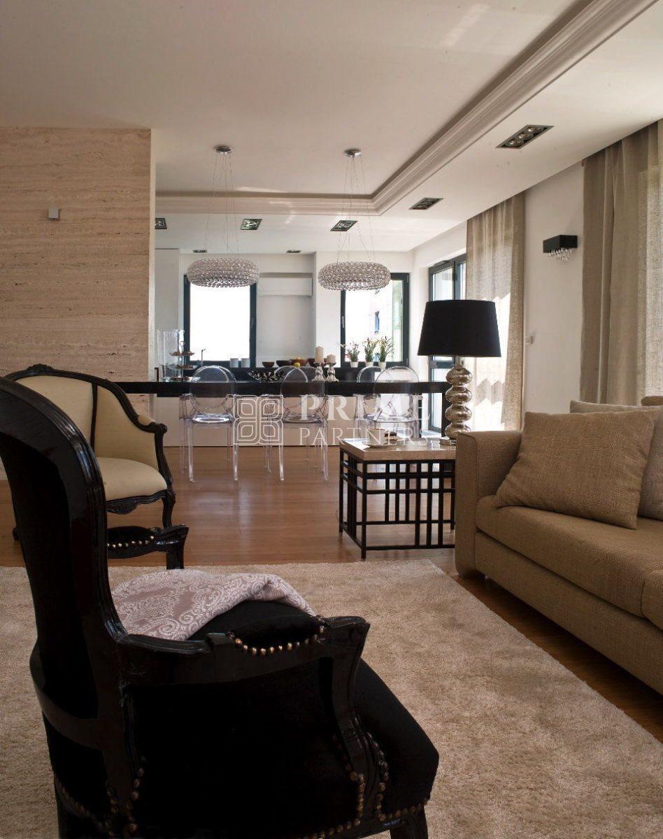 Mieszkanie czteropokojowe  na wynajem Warszawa, Śródmieście, Mokotów  180m2 Foto 8