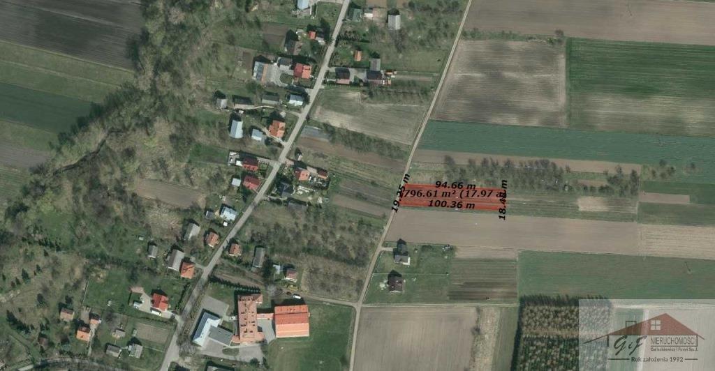 Działka budowlana na sprzedaż Drohojów  1796m2 Foto 8