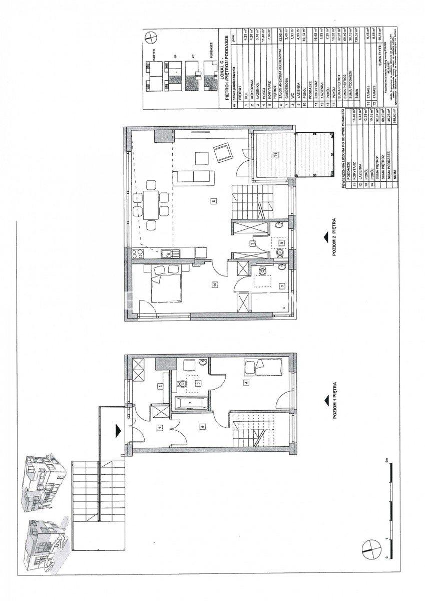 Mieszkanie czteropokojowe  na sprzedaż Warszawa, Mokotów Służew, Skrzetuskiego  139m2 Foto 4