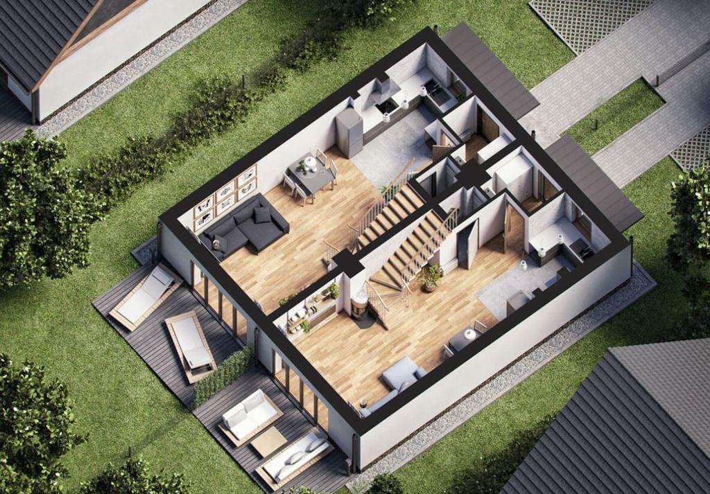 Dom na sprzedaż Straszyn, Szafranowa  125m2 Foto 3