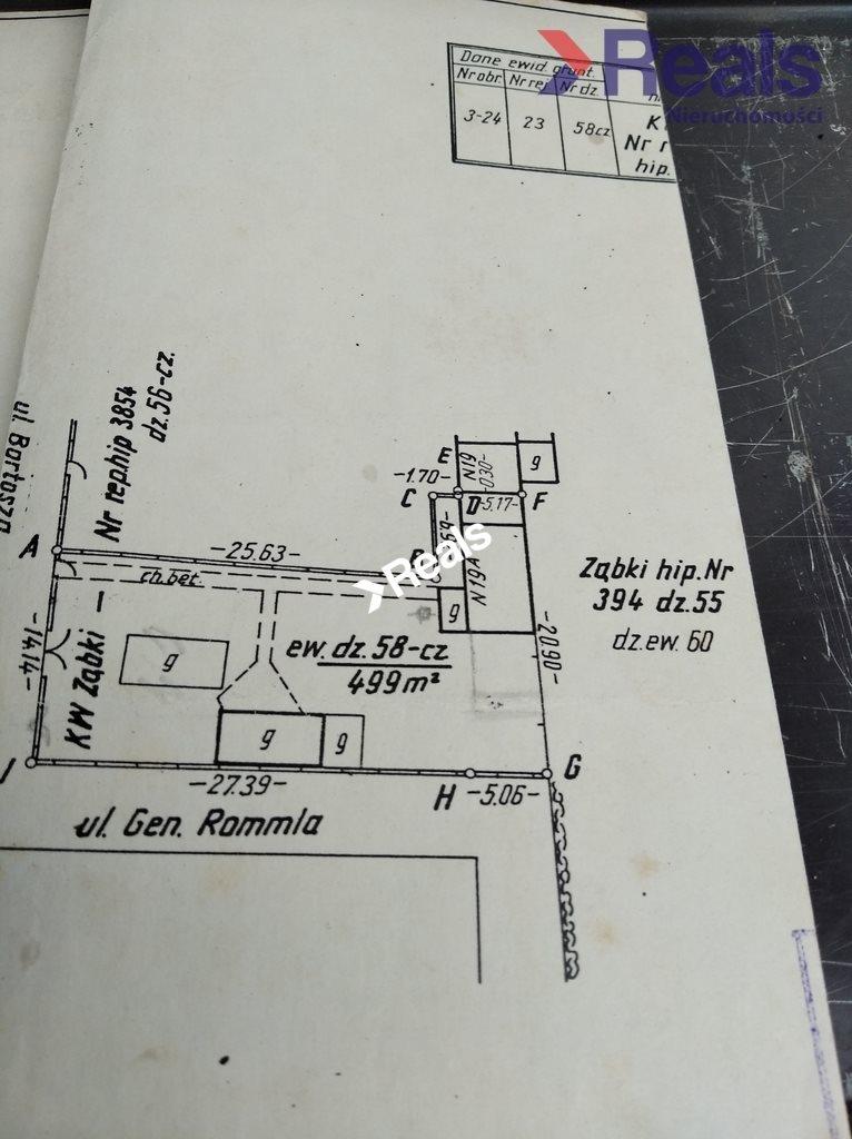 Działka budowlana na sprzedaż Ząbki  499m2 Foto 6