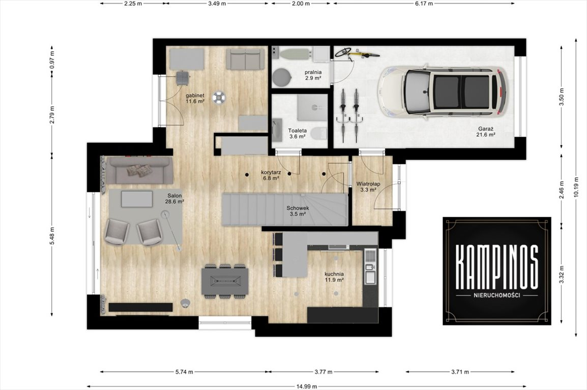Dom na sprzedaż Izabelin C, Izabelin, oferta 2918  169m2 Foto 4