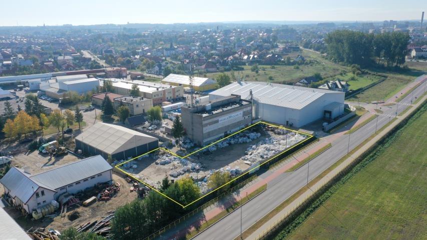 Działka przemysłowo-handlowa pod dzierżawę Łomża, Przemysłowe, Browarna  2000m2 Foto 1