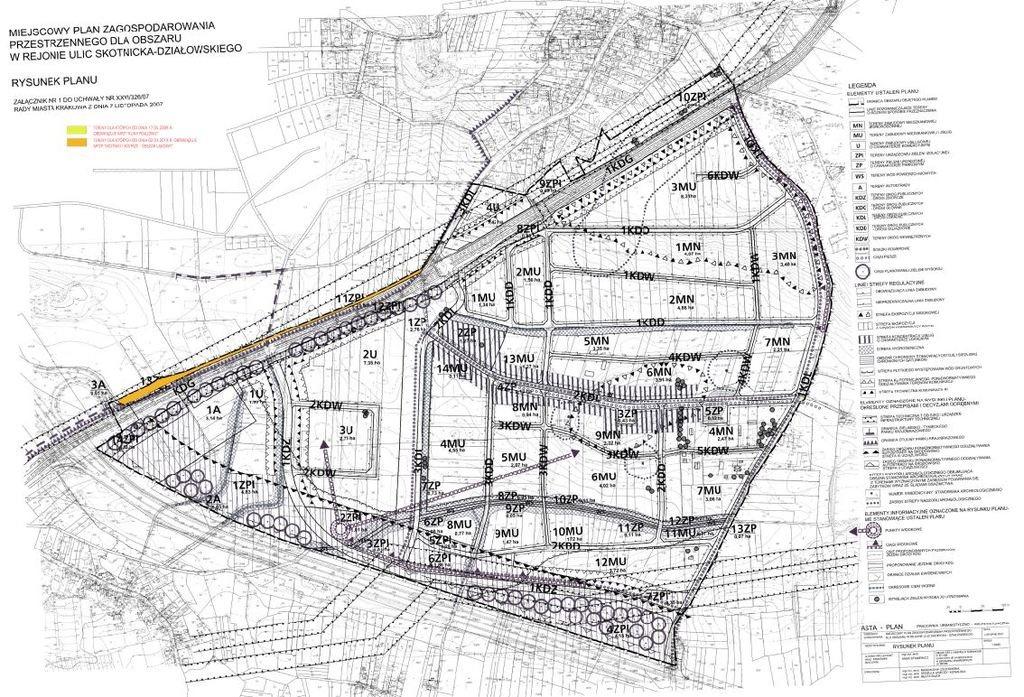 Działka budowlana na sprzedaż Kraków, Dębniki, Dębniki, Księdza Franciszka Trockiego  2168m2 Foto 4