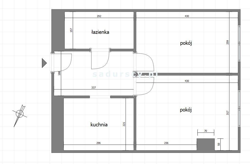 Mieszkanie dwupokojowe na sprzedaż Kraków, Łagiewniki-Borek Fałęcki, Zakopiańska  39m2 Foto 2